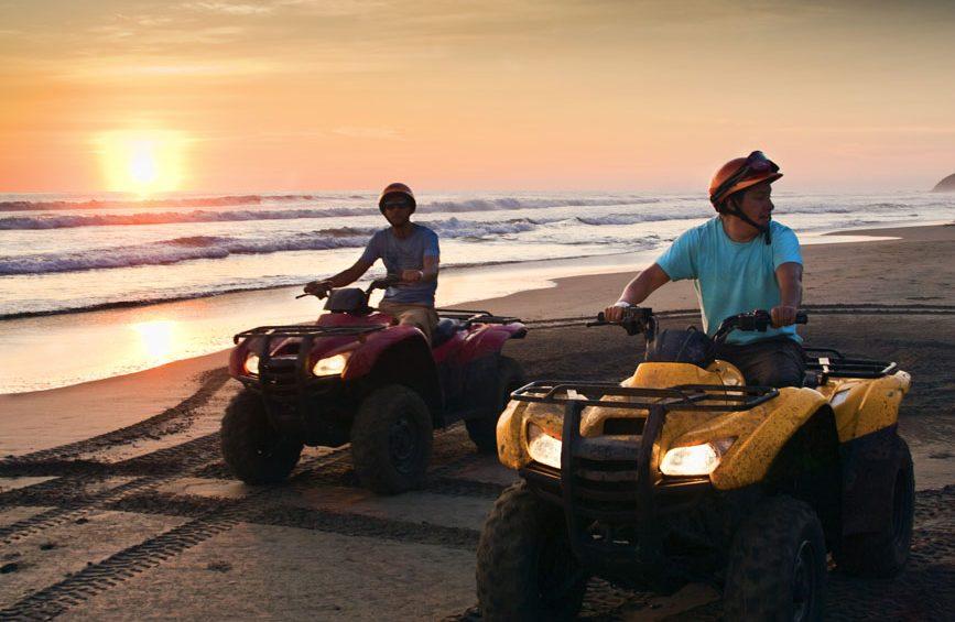 cuatrimotos, playa, vacaciones